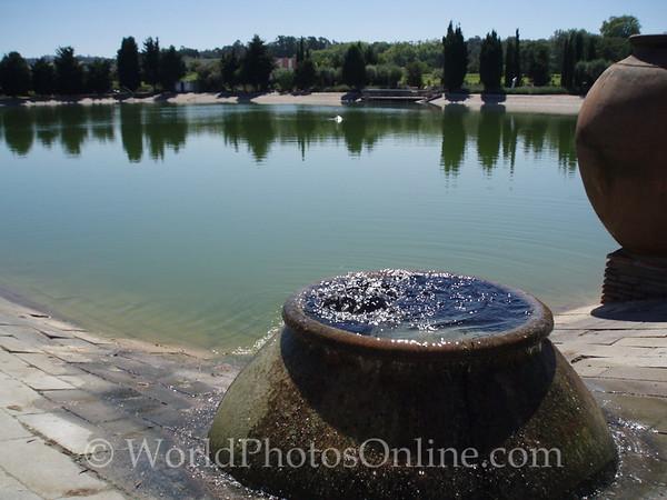 Azeitão - Bacalhoa Winery - Irrigation pond 1
