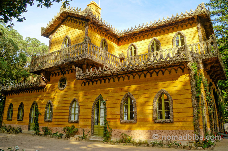 Chalet of the Countess of Edla in Sintra