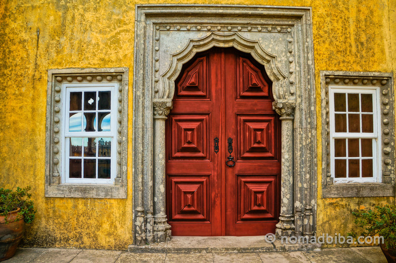 Door at the Pena Palace