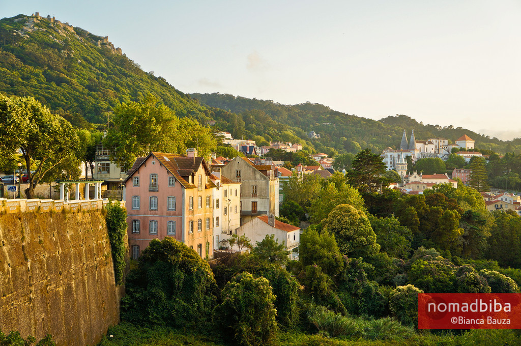 View of Sintra in Portugal