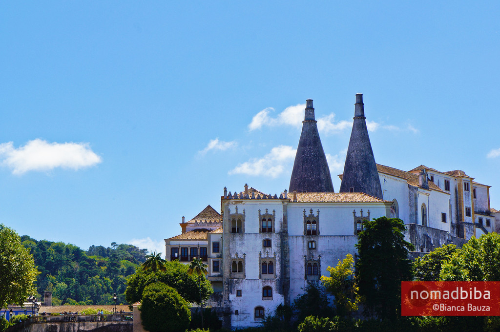 Palacio Nacional in Sintra, Portugal
