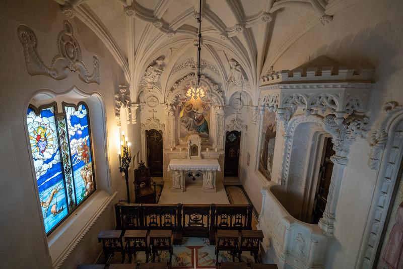 The Regaleira Chapel.