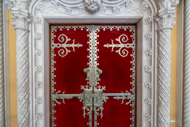 Detail on a palace door.