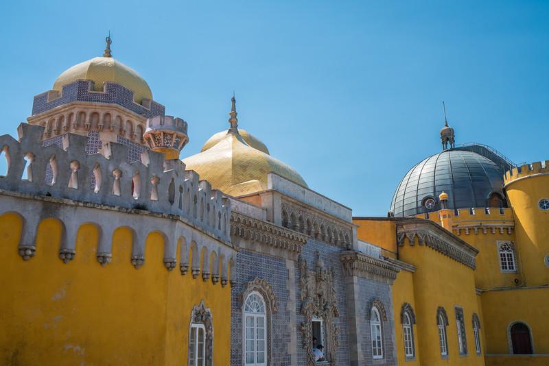 Pena Palace roofline.