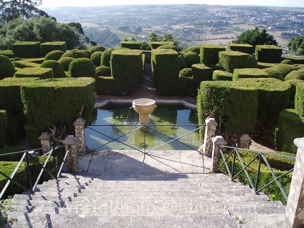 Sintra - Palace of Seteais - Formal Gardens