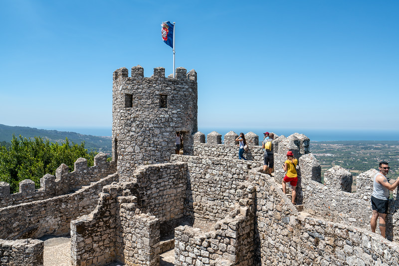 The Castle of the Moors was constructed during the 8th and 9th centuries, during the period of Muslim Iberia.