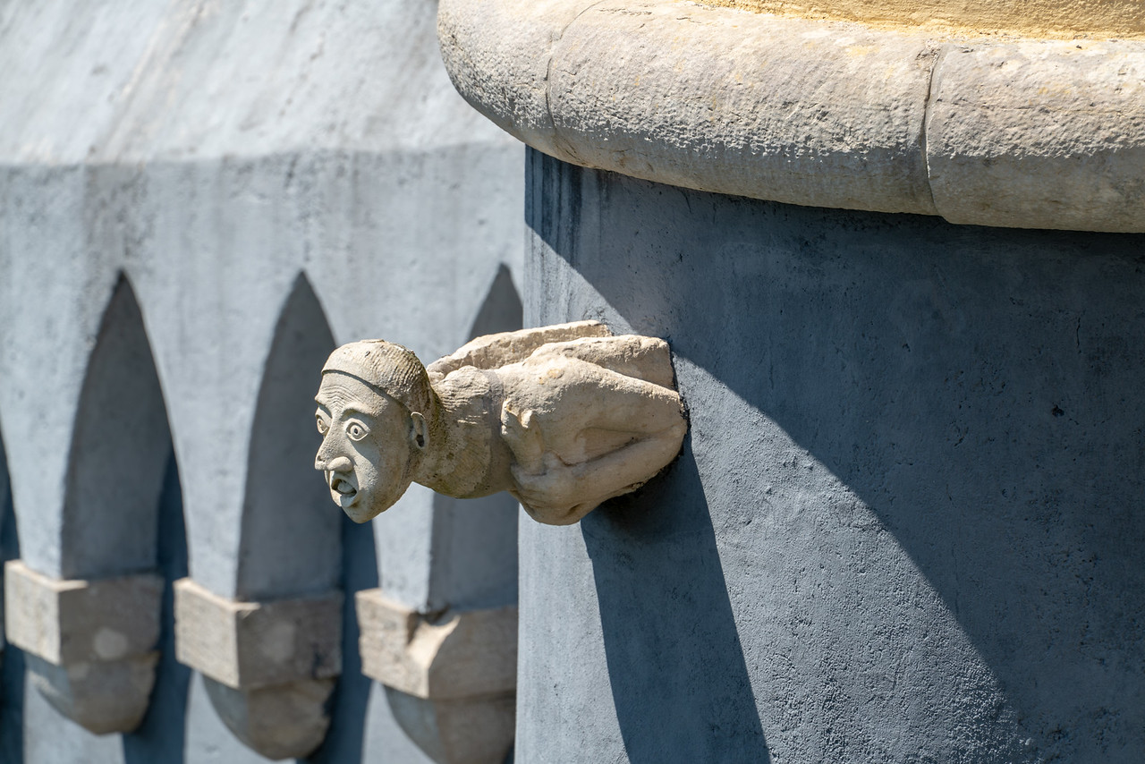I'm not sure of the significance of this gargoyle, but it's pretty cool.