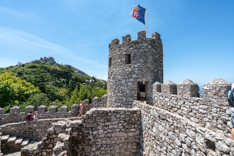 The Castle of the Moors is a UNESCO World Heritage Site.