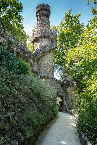 Neo-gothic tower at Quinta de Regaleira.