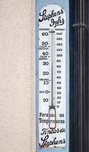 Stephens Inks Tintas de Stephens para todas temperaturas thermometer