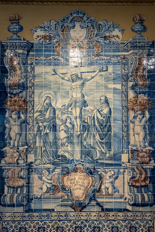 Tiles at the National Azulejo Museum
