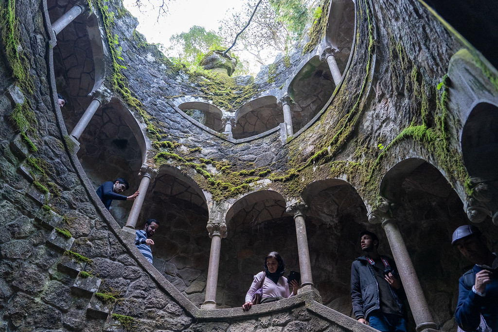 Initiation Well at Quinta de Regaleira