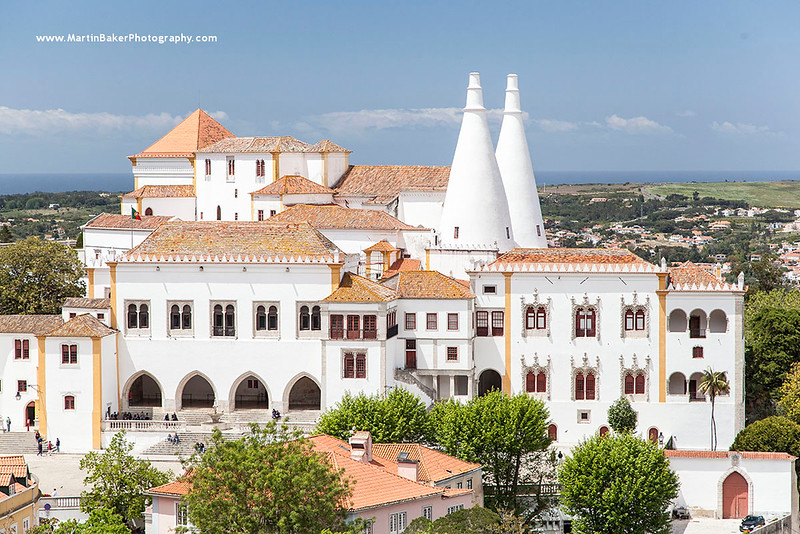 Sintra National Palace, Sintra, Lisbon, Portugal.