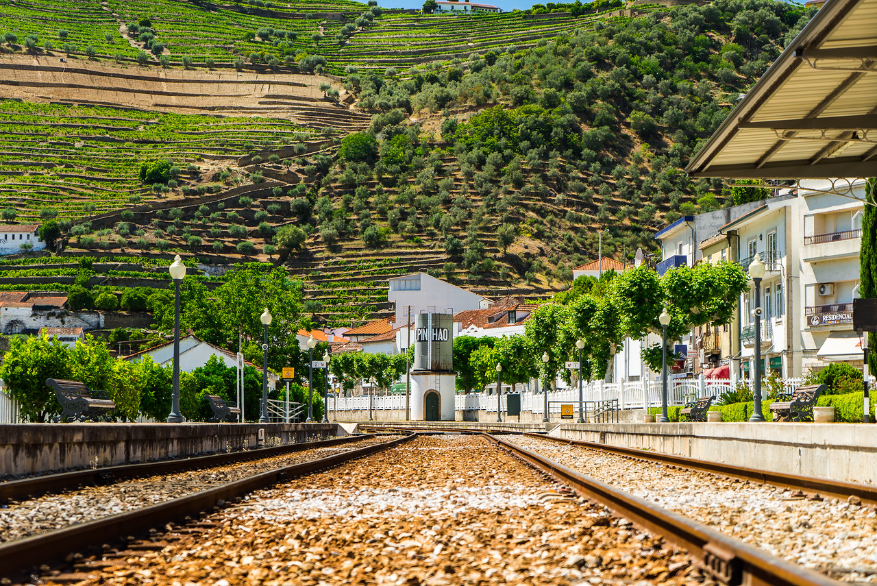 Douro Valley Train Tracks