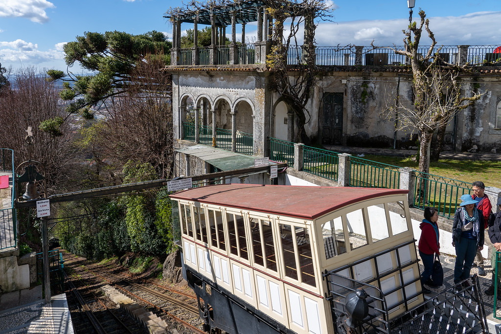The funicular at Bom Jesus do Monte
