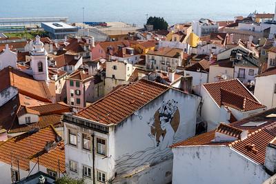 View from Miradouro das Portas do Sol
