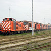 1432 along with many other English Electrics near Barreiro A station.