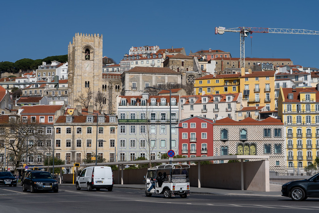 Alfama neighborhood in Lisbon
