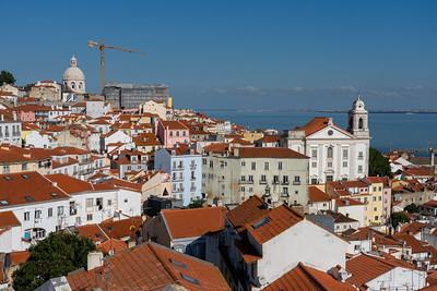 Miradouro das Portas do Sol in Lisbon