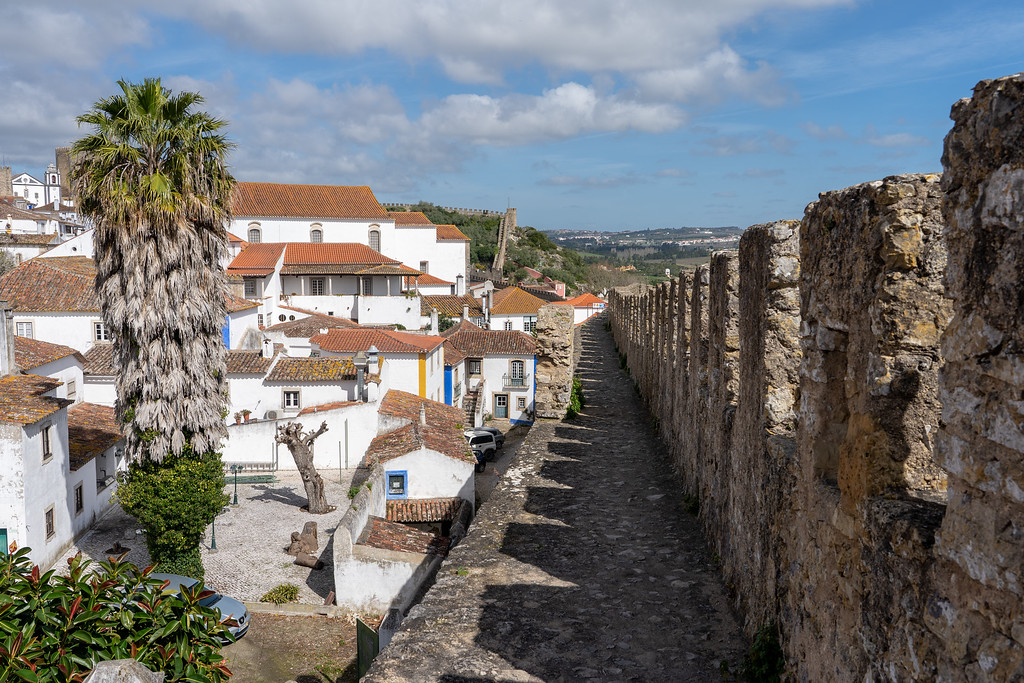 View from the Óbidos wall