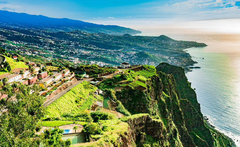 Looking Along the Southern Shore of Madeira (©simon@myeclecticimages.com)