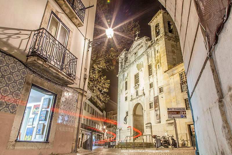 Alfama, Lisbon, Portugal.