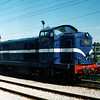 1424 in original blue livery at Porto Campanha.