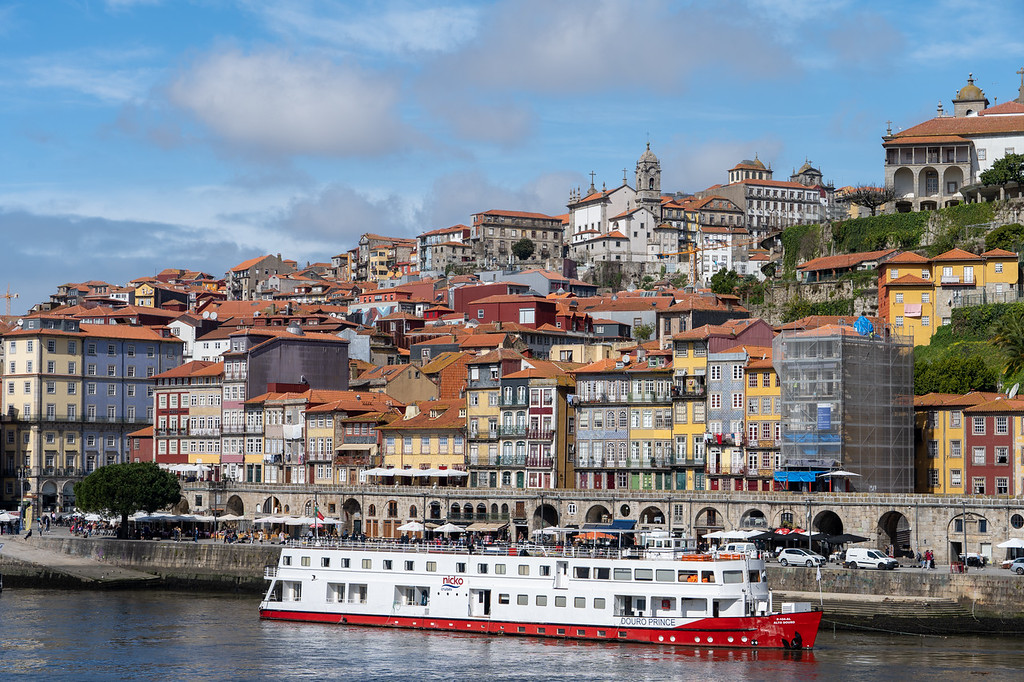 Waterfront in Porto, Portugal