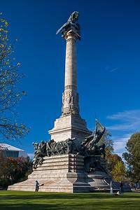Napoleonic War memorial Porto