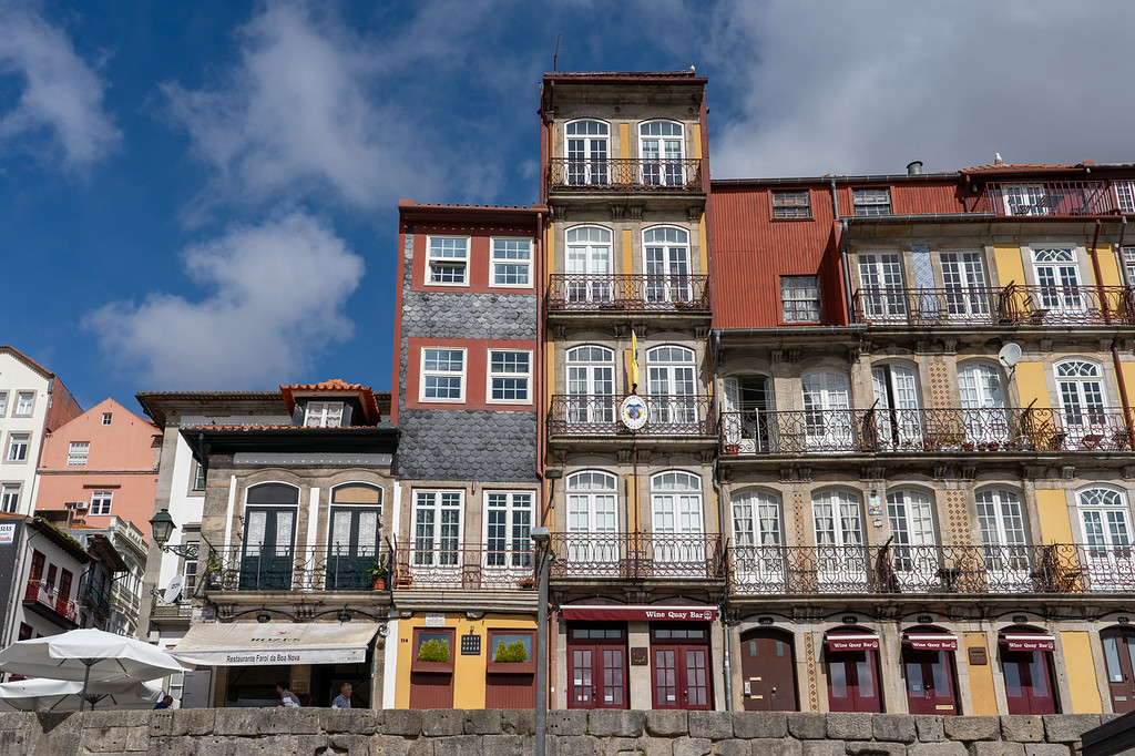 Ribeira waterfront in Porto