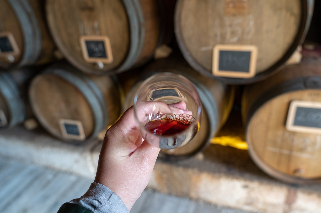 Port wine in the Douro Valley