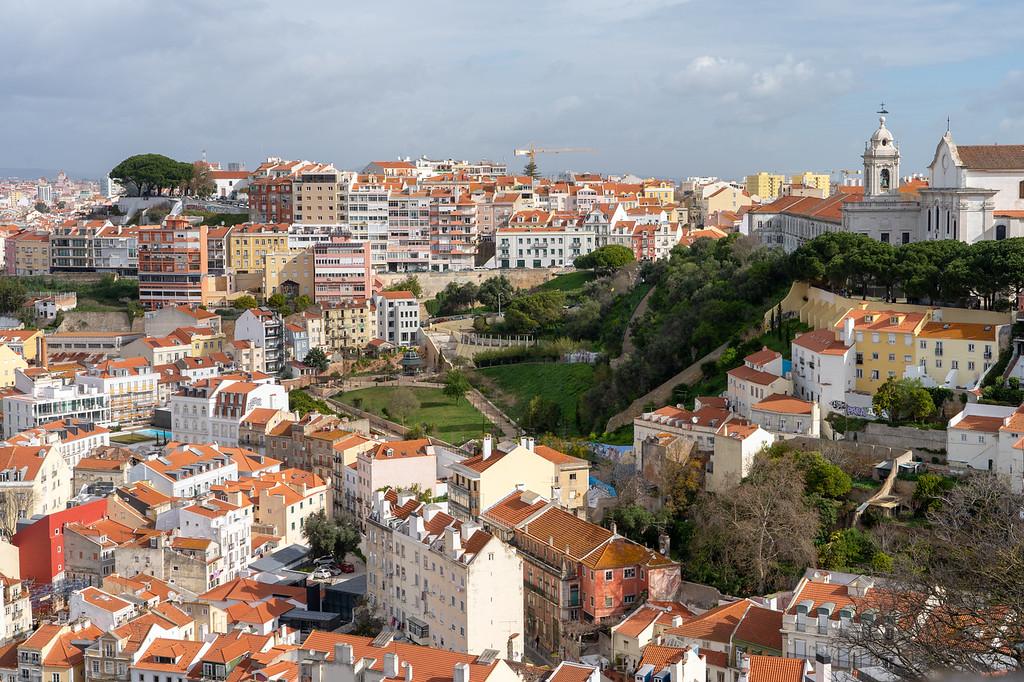 View of Lisbon from Castelo de São Jorge