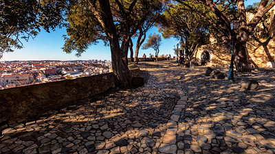 Sao GJorge Castle Path