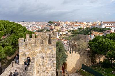 Castelo de São Jorge in Lisbon