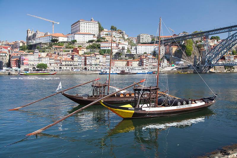 River Douro, Porto, Portugal.