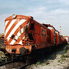 English Electric built 1402 stored at Barreiro Works near Lisbon during March 2003.