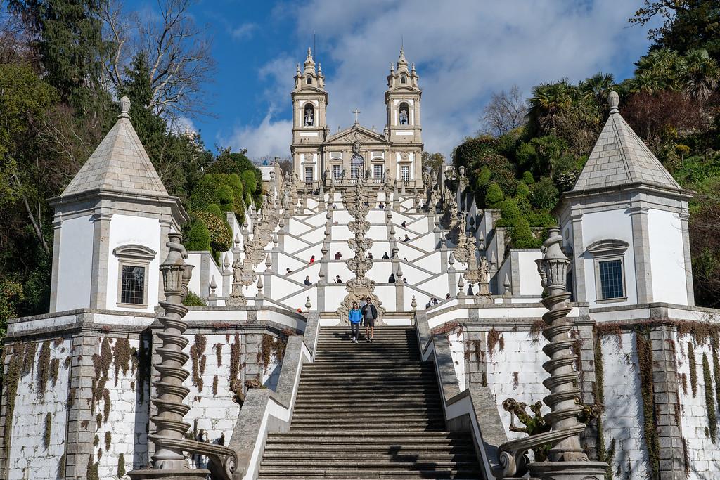 Bom Jesus do Monte staircase