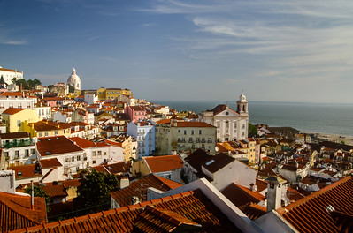 Lisbon from the Memmo Alfama Hotel