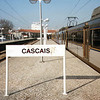 Probably the most westerly point reached by rail in Europe. Cascais, near Lisbon, Portugal.