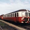 A Portuguese DMU at Barreiro depot.