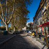 Porto cafe and side street
