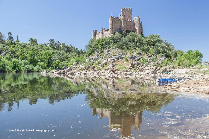 Castelo de Almourol, Tomar, Portugal.