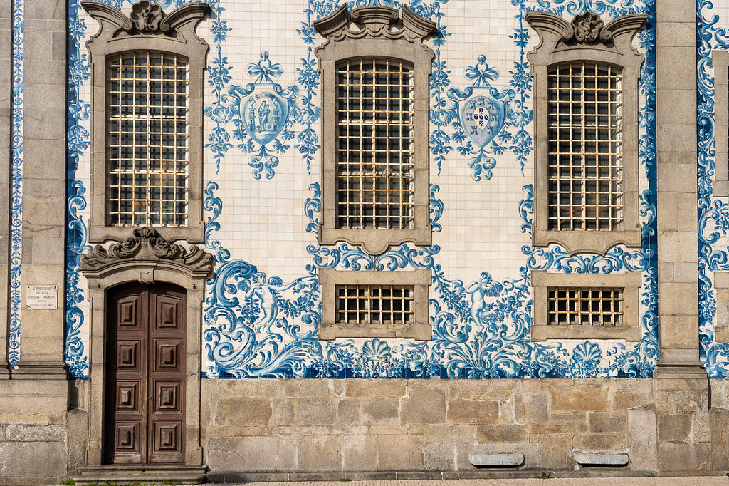 Tiles on Igreja do Carmo
