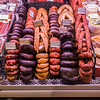 alheira non-pork Jewish sausage and other meats Lisbon market