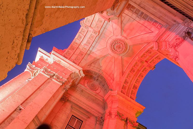Arco da Augusta, Lisbon, Portugal.
