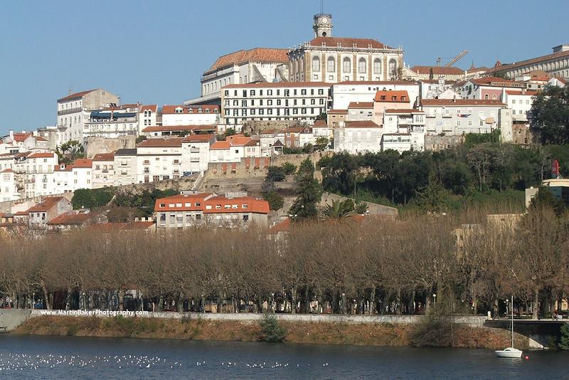 Rio Mondega, Coimbra, Portugal.