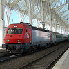"5604 ""Eurosprinter"" at Lisboa Oriente."