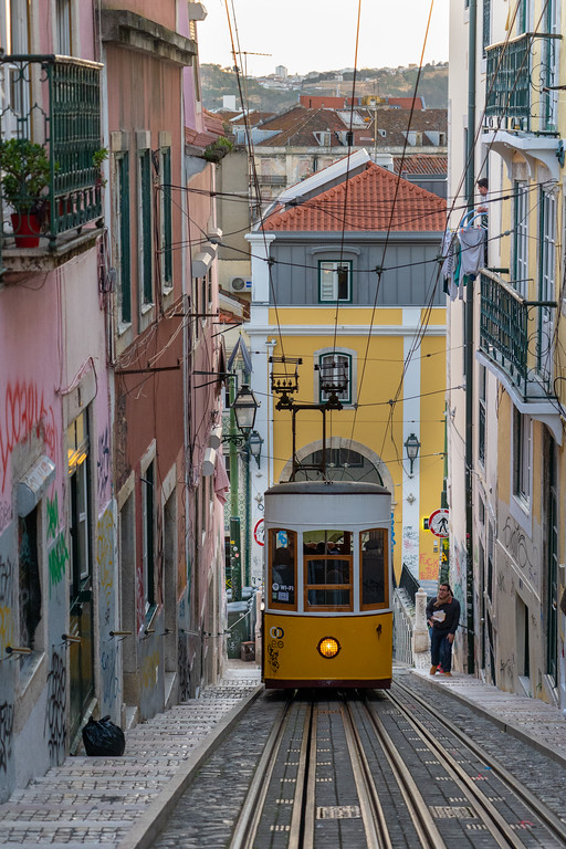 Ascensor da Bica in Lisbon