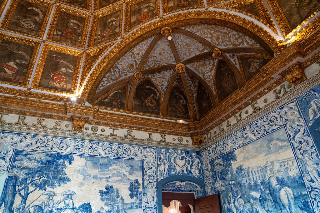 Inside Sintra National Palace