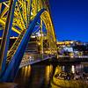 under the Ponte de Dom Luis
